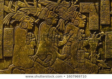 Mayan carvings Stock photo © jsnover
