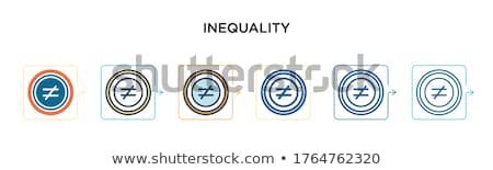 Geslacht symbool vector icon geïsoleerd witte Stockfoto © smoki