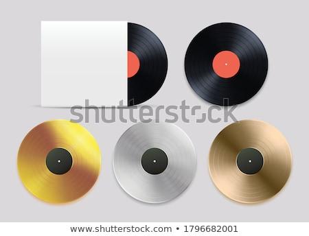 Szett arany platina bronz album bakelit Stock fotó © evgeny89