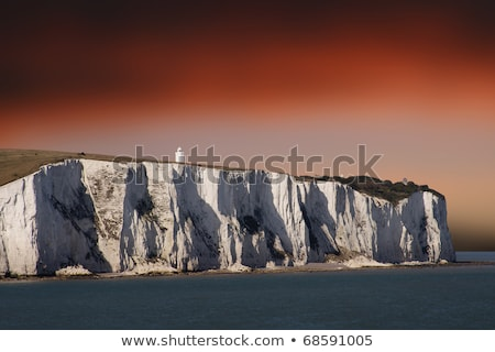 View of white cliffs of Dover in Kent Stock photo © duoduo
