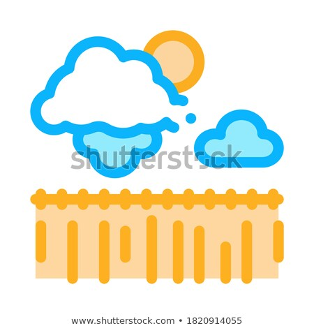 悪天候 麦畑 アイコン ベクトル 実例 ストックフォト © pikepicture