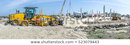 Building and Crane, Construction Area and Machine Stock photo © robuart