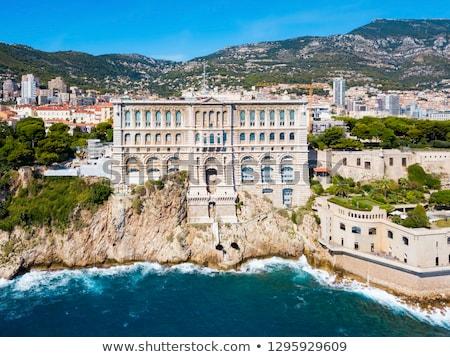 Museu Mônaco ver edifício mar oceano Foto stock © vladacanon
