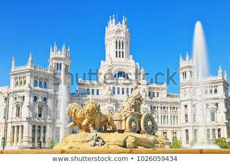 Council of Madrid Stock photo © fxegs