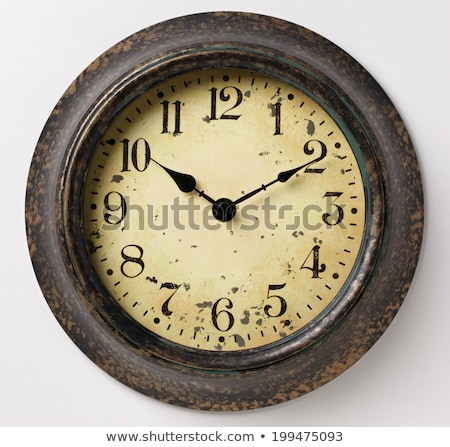 Old wall clock Stock photo © leeser