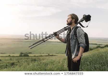 Photographic tripod Stock photo © broker