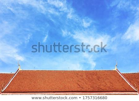 old ceramic tile stock photo © zeffss