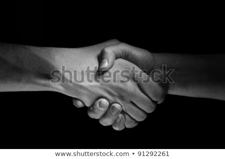 Hands unite with eachother as deal agreement stock photo © vetdoctor