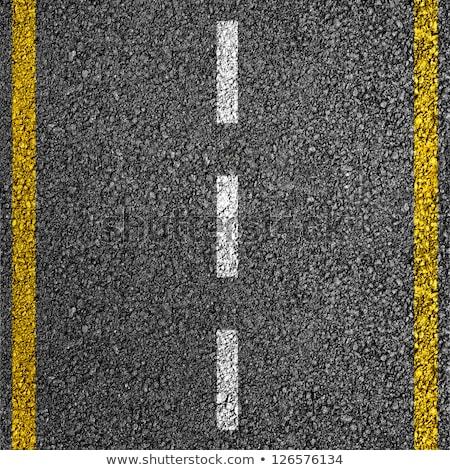 Wzór drogowego tekstury żółty naszywka budynku Zdjęcia stock © Archipoch