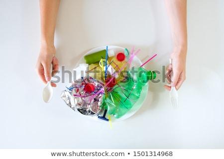 クローズアップ · プラスチック · 側位 · デザイン · グループ · パターン - ストックフォト © designsstock