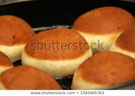 pastry carnival on white stock photo © m-studio