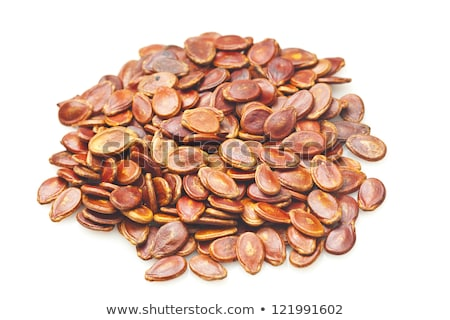 red melon seeds in dry condition stock photo © kawing921