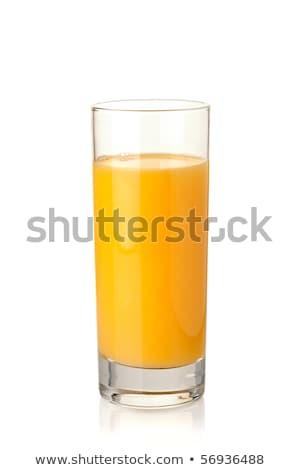 апельсиновый · сок · стекла · изолированный · белый · продовольствие · фрукты - Сток-фото © karandaev