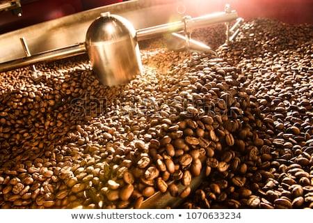 кофе охлаждение бобов большой Сток-фото © sumners