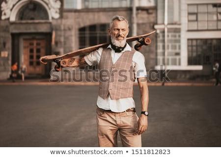 Man with Skateboard Stock photo © piedmontphoto