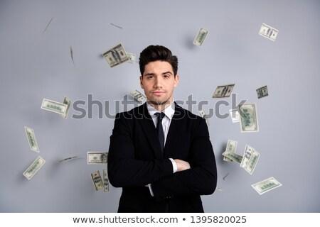zakenman · blazen · top · ogen · moeder · praten - stockfoto © photography33
