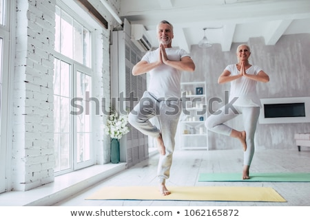 old couple doing fitness Stock photo © photography33