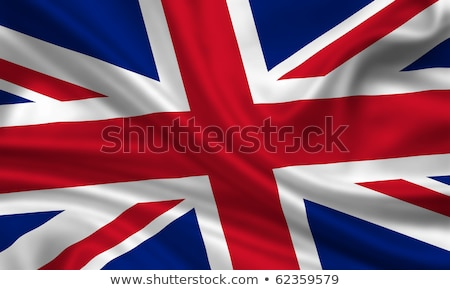The Union Flag of Great Britain blowing in the wind. Stock photo © latent