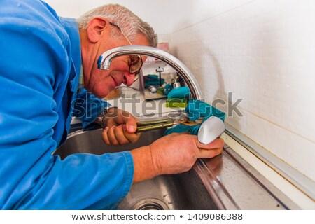 Mature handyman Stock photo © photography33
