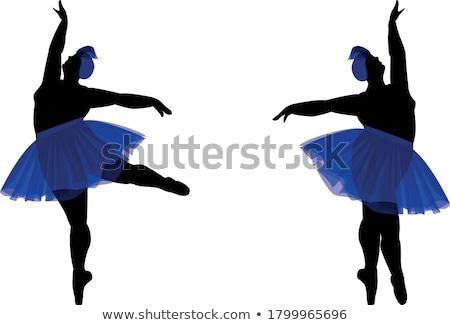 dansçılar · portre · iki · genç · kadın · parti - stok fotoğraf © aikon