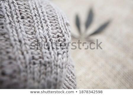 cannabis texture with detail Stock photo © robertosch