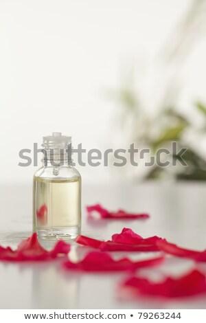 üveg rózsaszín szirmok kamera fókusz víz Stock fotó © wavebreak_media
