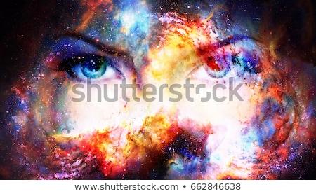 Donna nascosto buio no faccia Foto d'archivio © ajfilgud