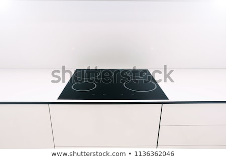 Electrical hob isolated Stock photo © ozaiachin