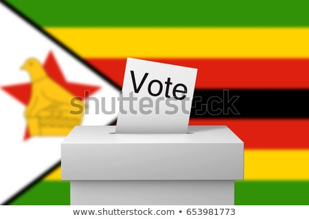 Ballot box Zimbabwe Stock photo © Ustofre9