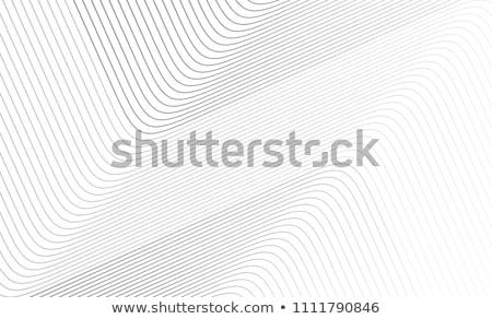 résumé · art · argent · métal · lignes · fond - photo stock © alexmillos