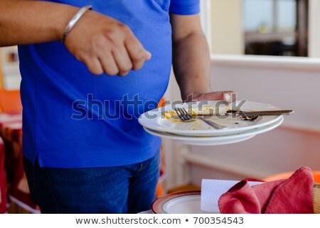 ストックフォト: 手 · 汚い · カップ · コーヒーブレイク · 会議室