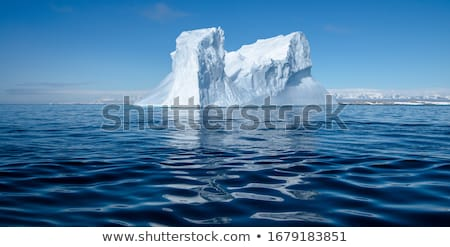Iceberg in the sea stock photo © Ustofre9