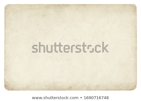 old paper isolated on white stock photo © 5xinc