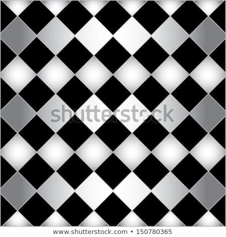 Vintage chess background, vector illustration Stock photo © carodi
