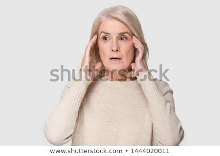 Menekülés tele stressz problémák öngyilkos hajlam kísérlet Stock fotó © Lighthunter