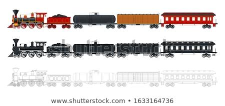 列車 · 白 · ビジネス · 道路 · デザイン - ストックフォト © vectorpro
