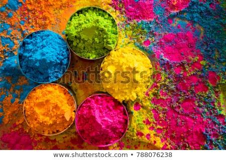 mooie · grunge · kleurrijk · illustratie · kunst · asian - stockfoto © bharat