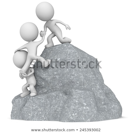 3d small people   care stock photo © anatolym