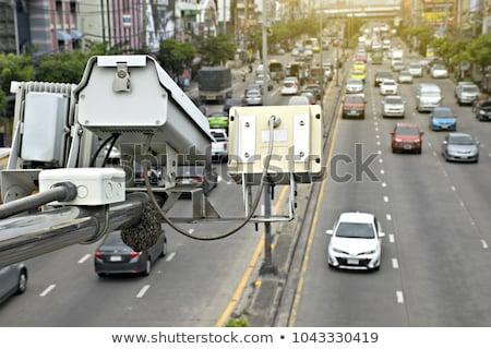 Traffico velocità fotocamera polizia radar autostrada Foto d'archivio © REDPIXEL