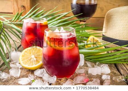 spanish tinto de verano Stock photo © nito