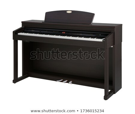 Upright piano Stock photo © Supertrooper
