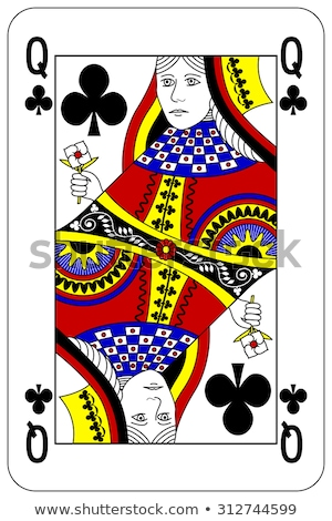 queen of clubs stock photo © gemenacom