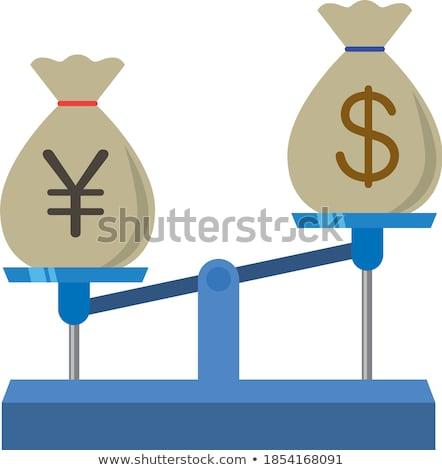 yen's weigh Stock photo © hitdelight