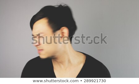 Man's Fist Hitting Something With Strength. Stock photo © TarikVision