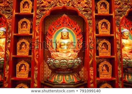 Singapore · buddha · tand · tempel · China · stad - stockfoto © pzaxe