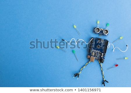 metaal · innovatie · tekst · teken · brief · witte - stockfoto © bosphorus