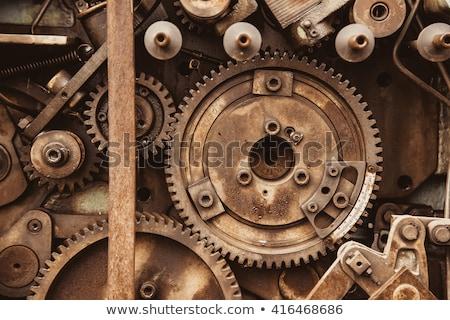 dettaglio · vecchio · arrugginito · attrezzi · lavoro · metal - foto d'archivio © caimacanul