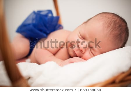 Smiling sleepyhead Stock photo © Novic