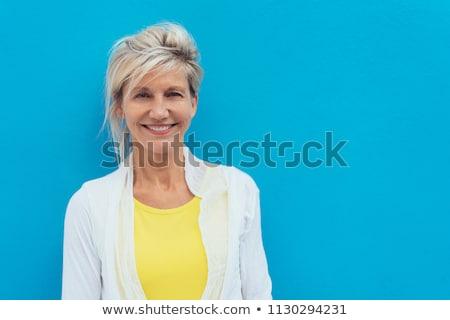 Színes nyár szőke nő hölgy végtelen minta jpg Stock fotó © Voysla