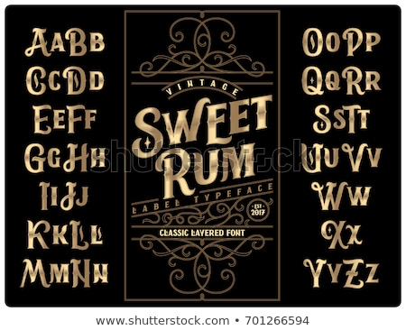 Zoete gestileerde tekst roze Geel confetti Stockfoto © x7vector